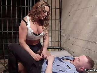 Busty Domme Boom Box Anal Bangs Officer